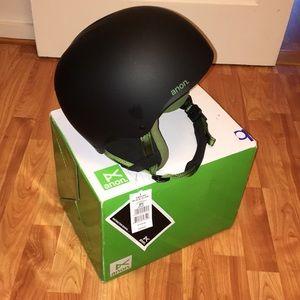 Anon burton endure helmet snowboard ski winter